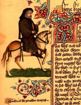 Ellesmere Manuscript Chaucer