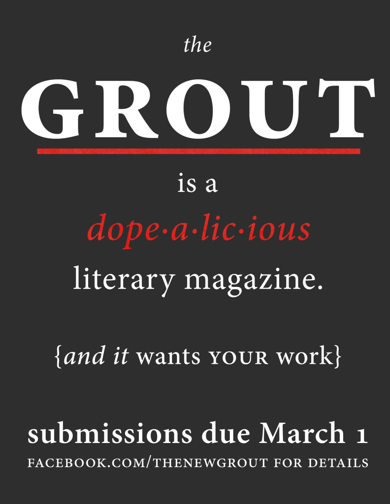 The Grout Poster