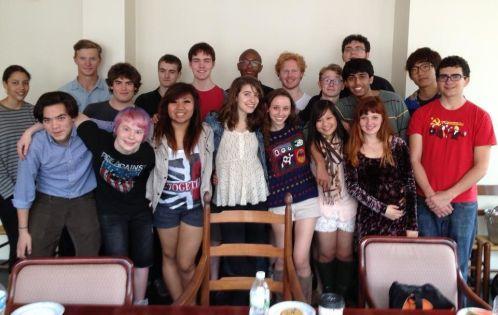 Future classmates, we hope!