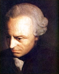 Immanuel Kant, author of the erudite Critique of Pure Reason, which is read in junior seminar. (Public domain photo)