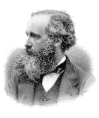 James Clerk Maxwell, Scottish theoretical physicist who developed the theory of classical electromagnetism. His papers are studied extensively in the St. John's junior laboratory. (Public domain photo)