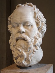 Portrait of Socrates by Lysippos, a first century Roman. (photo by Eric Gaba)