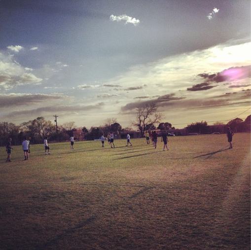 Tuesday Soccer at St. John's College