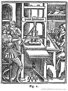 old-printing-press