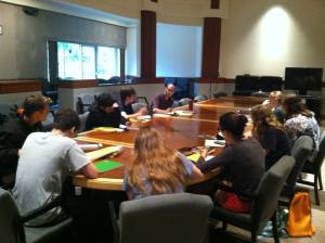 St. John's College, where Writing Workshops involve way more talking than writing.