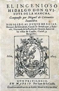 Don Quixote Manuscript