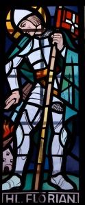 Gradenegg_-_Kirche_-_Fenster_-_Hl_Florian