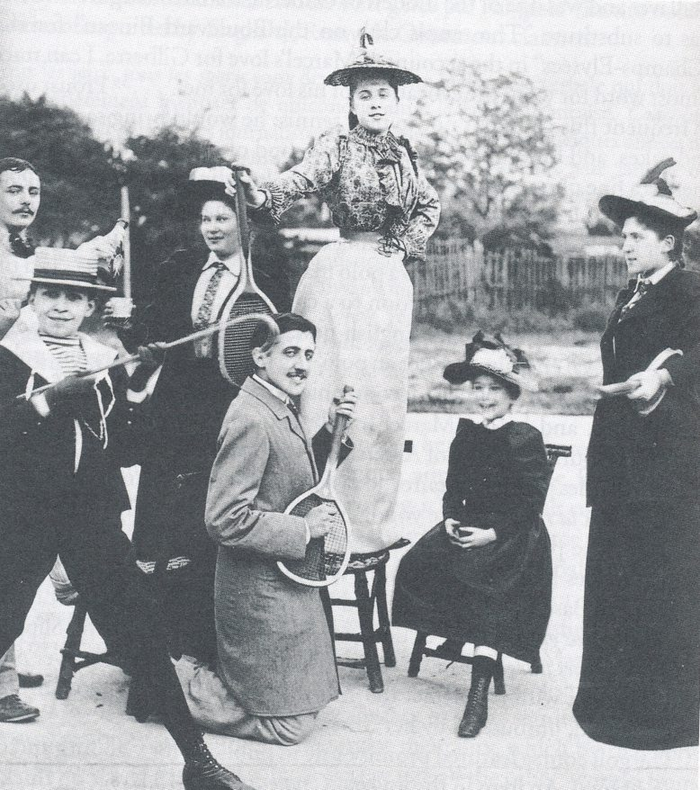 St. John's College: Proust Playing Air Guitar